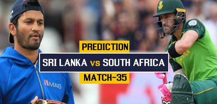 Photo of Who Will Win Today ICC CWC 2019 Sri Lanka vs South Africa 35th Match Today Match Prediction