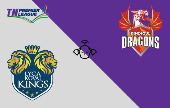 Dindigul Dragons vs Lyca Kovai Kings