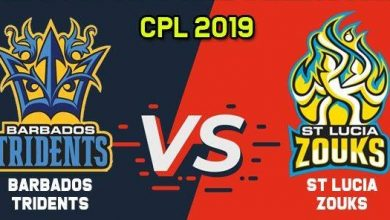 Photo of Today Caribbean Premier League – BARBADOS TRIDENTS vs ST LUCIA ZOUKS – Cricket Match Prediction Tips Report Who Will Win