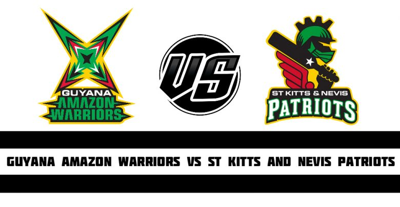 Photo of Caribbean Premier League 2019: St Kitts and Nevis Patriots vs Guyana Amazon Warriors – Today Cricket Match Win Insurance Ball by Ball Prediction Report
