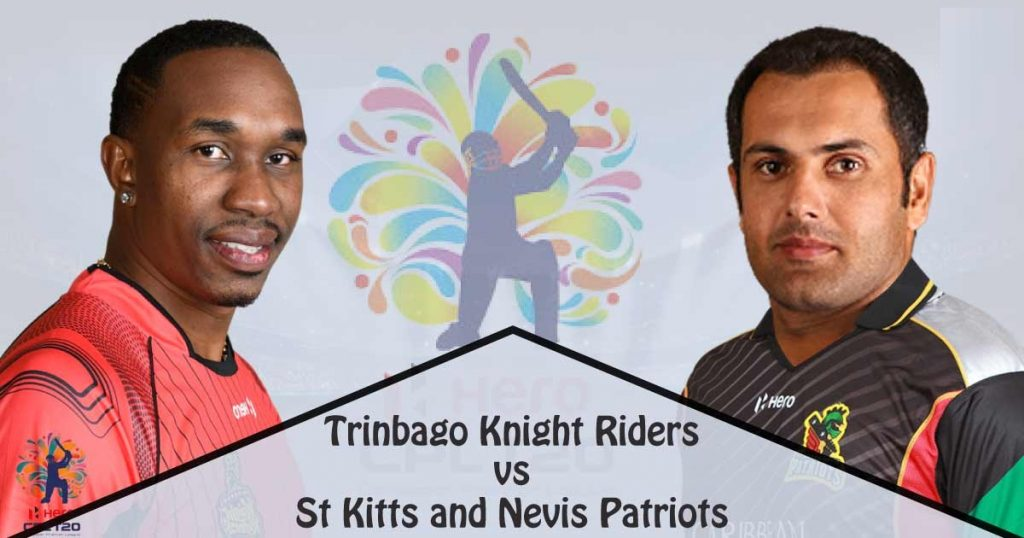 Trinbago Riders vs St Kitts and Nevis Patriots CPL 2019