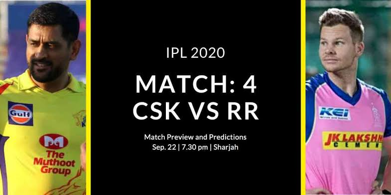 Photo of Today Match Prediction-Rajasthan Royals vs Chennai Super Kings-IPL T20 2020-4th Match-Who Will Win